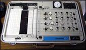 Polygraph, lie detector instrument